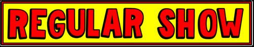 regular mostra logo (bob's burgers style)