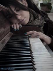 sad and Pianoforte