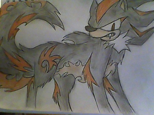 shadow the werehog x3