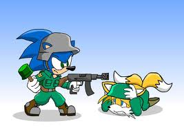 sonic and tails  - sonic-the-hedgehog Photo