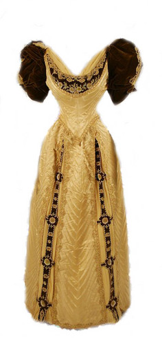 victorian گاؤن, gown