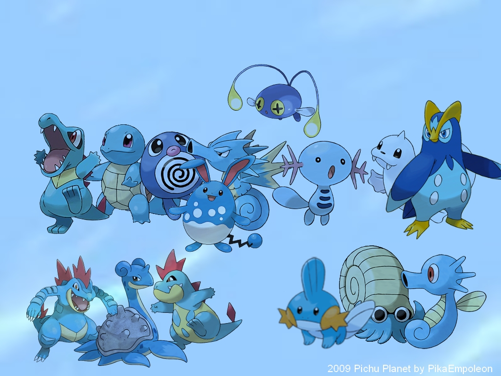 Water type pokemon images water pokemon hd wallpaper and for All types of water