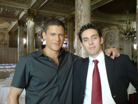 went with fans - wentworth-miller Photo