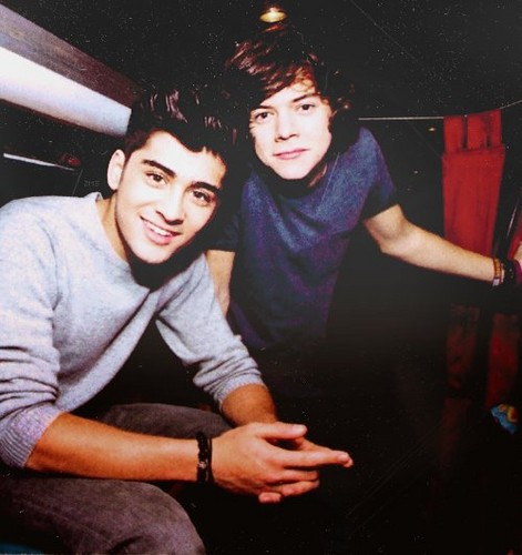 zayn and harry♥