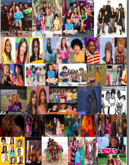 zoey 101 collage