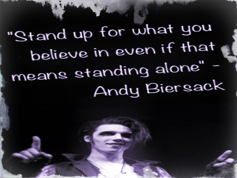 Andy Biersack Quotes 2013. QuotesGram