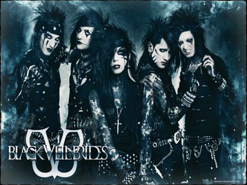 Heavy Metal wallpaper possibly containing a sign called ☆ Black Veil Brides ☆