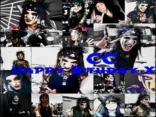 ☆ Happy Birthday CC ☆