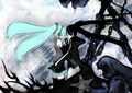 [Just Postin' Things~ xD] Hatsune Miku & Black Rock Shooter~ - the-random-anime-rp-forums fan art