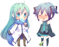 [Just Postin' Things~ xD] Hatsune Miku & Kaito~ xD - the-random-anime-rp-forums fan art