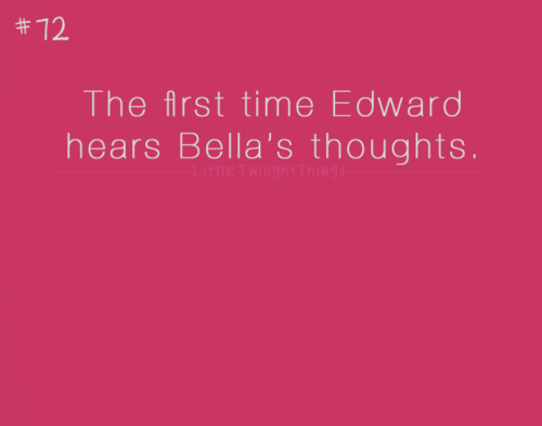 {Little Twilight Things} ♥