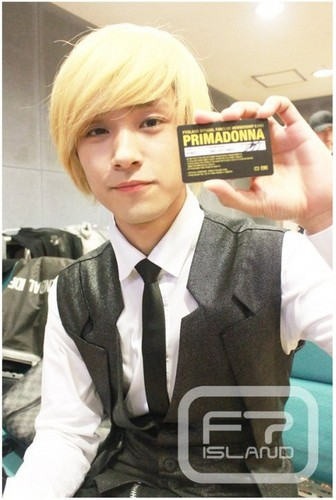Primadonna Fanclub Member Card Jae Jin
