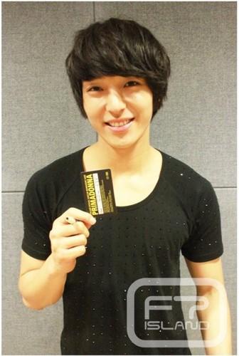 Primadonna Fanclub Member Card Jong Hun