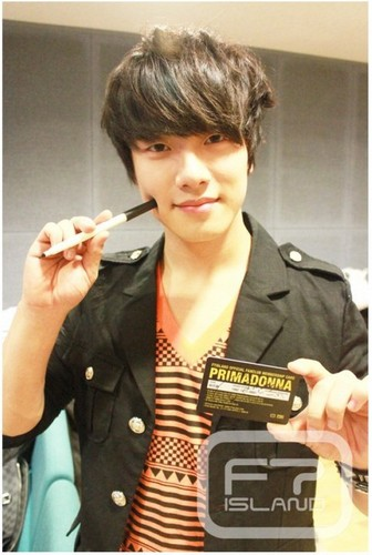 Primadonna Fanclub Member Card Minhwan