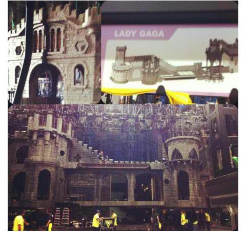 (RUMORED) foto of the BTWBT stage