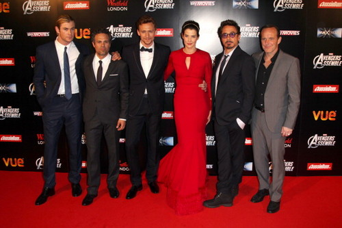"""The Avengers"" European Premiere"