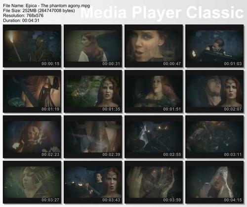 """""""The Phantom Agony"""" [Official Video] - Screencaps"""