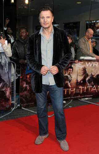 'Wrath of the Titans' UK premiere - liam-neeson Photo