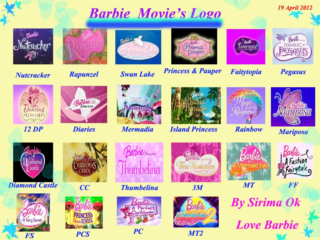 ิbarbie movie's logo