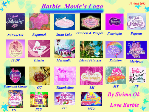 barbie movie&#39;s logo - barbie-movies Fan Art