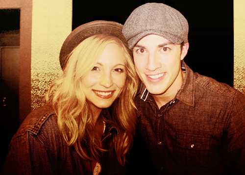 Michael Trevino and Candice Accola wallpaper titled + michael & candice