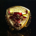 1993 NBA Chicago Bulls Michael Jordan Championship rings replica 18K - nba photo