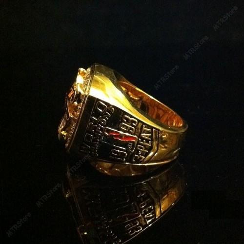 1993 NBA Chicago Bulls Michael Jordan Championship rings replica 18K