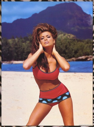 carmen electra wallpaper entitled 1998 Official Calendar
