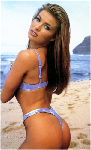 Carmen Electra wallpaper containing a bikini entitled 1998 Official Calendar