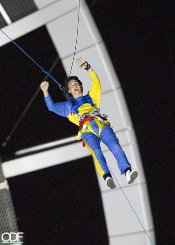 1D Bungee Jump at Sky Tower!