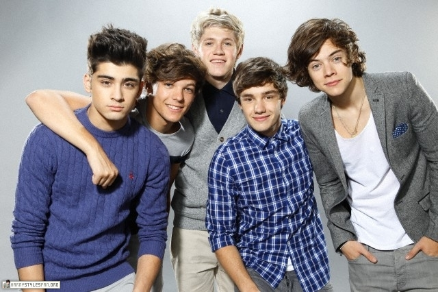 One Direction First Photo Shoot ღ One-direction Photo