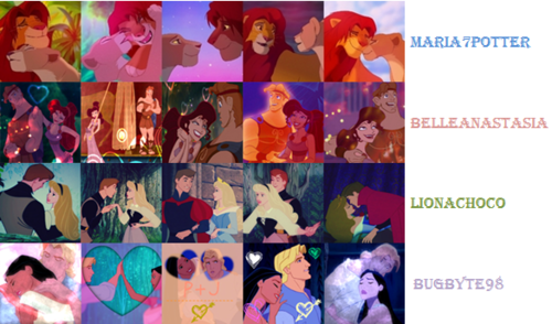 20in20 Round 5 Category icons: Romantic couple - classic-disney Photo