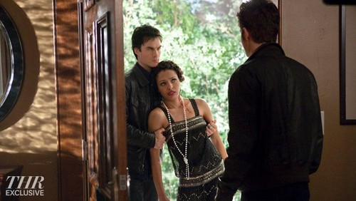 3x21- Jeremy, Stefan, Damon, Klaus, Bonnie - klaus-and-bonnie Photo