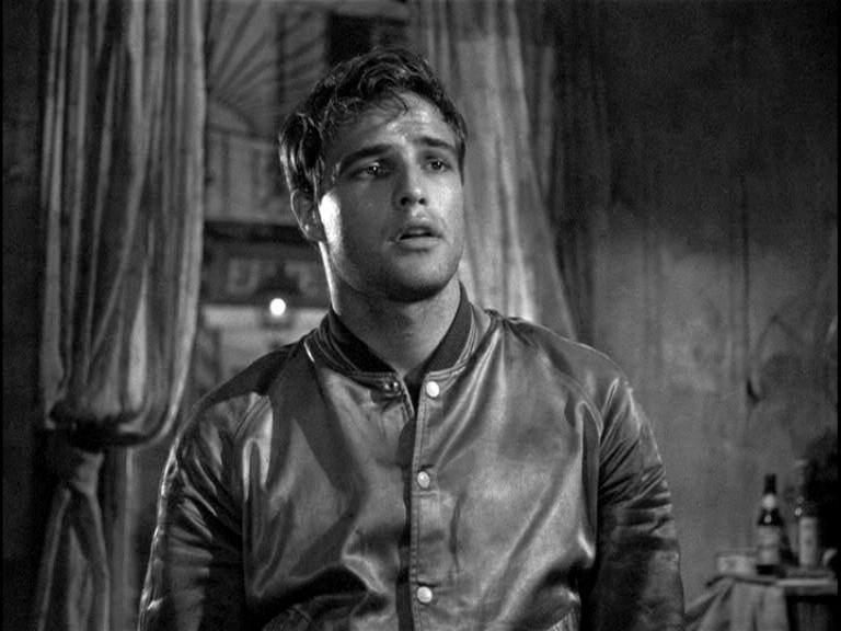 Young Marlon Brando in A Streetcar Named Desire