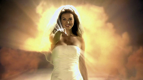 Adrianne Palicki - Angel Background