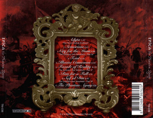 Album's Back Cover.