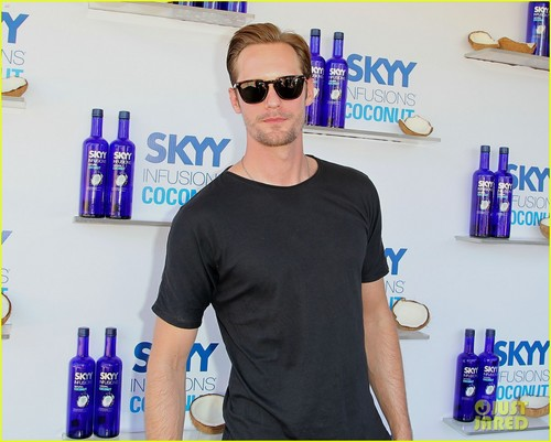 Alexander Skarsgard: SKYY Escape at Coachella! - alexander-skarsgard Photo