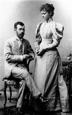 Alexandra Feodorovna Romanova and nicholas ii of russia