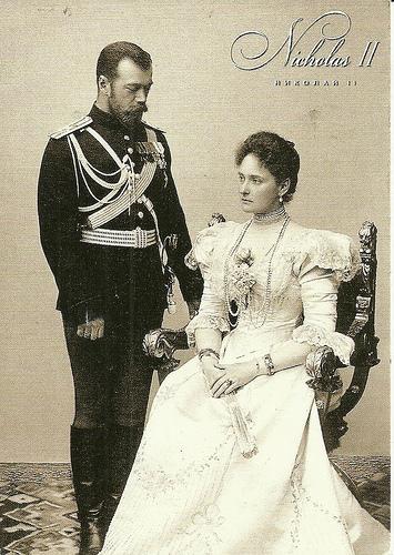 Alexandra Feodorovna Romanova nicholas ii of russia