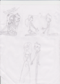 "Ally and Mike:""Word hurt, but form love"" sketches and spoilers - total-drama-island fan art"