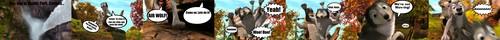 Alpha and Omega Comic