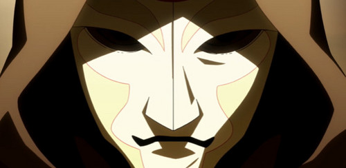 Avatar: The Legend of Korra wallpaper entitled Amon