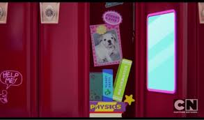 The Amazing World of Gumball achtergrond called Anais's locker