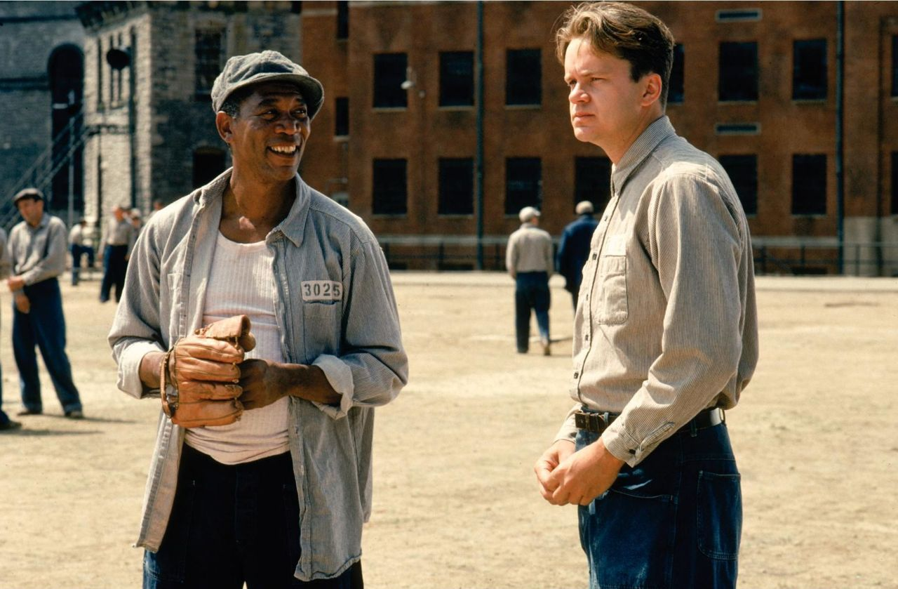 an analysis of the characters of andy dufrane and red abbot in shawshank redemption Shawshank redemption andy dufresne's whole experience i believe is summed up in the very important quote that crawled through a river of shit and came out.