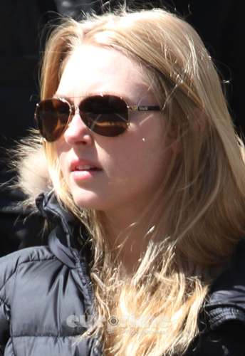 AnnaSophia - Out &amp; About in NYC - April 2nd, 2012 - annasophia-robb Photo