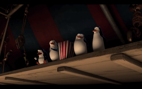 Another sneak peak of the penguins in the new madagascar movie!!! :D