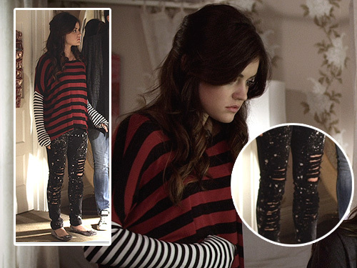 Aria Montgomery wallpaper called Aria Montgomery Style