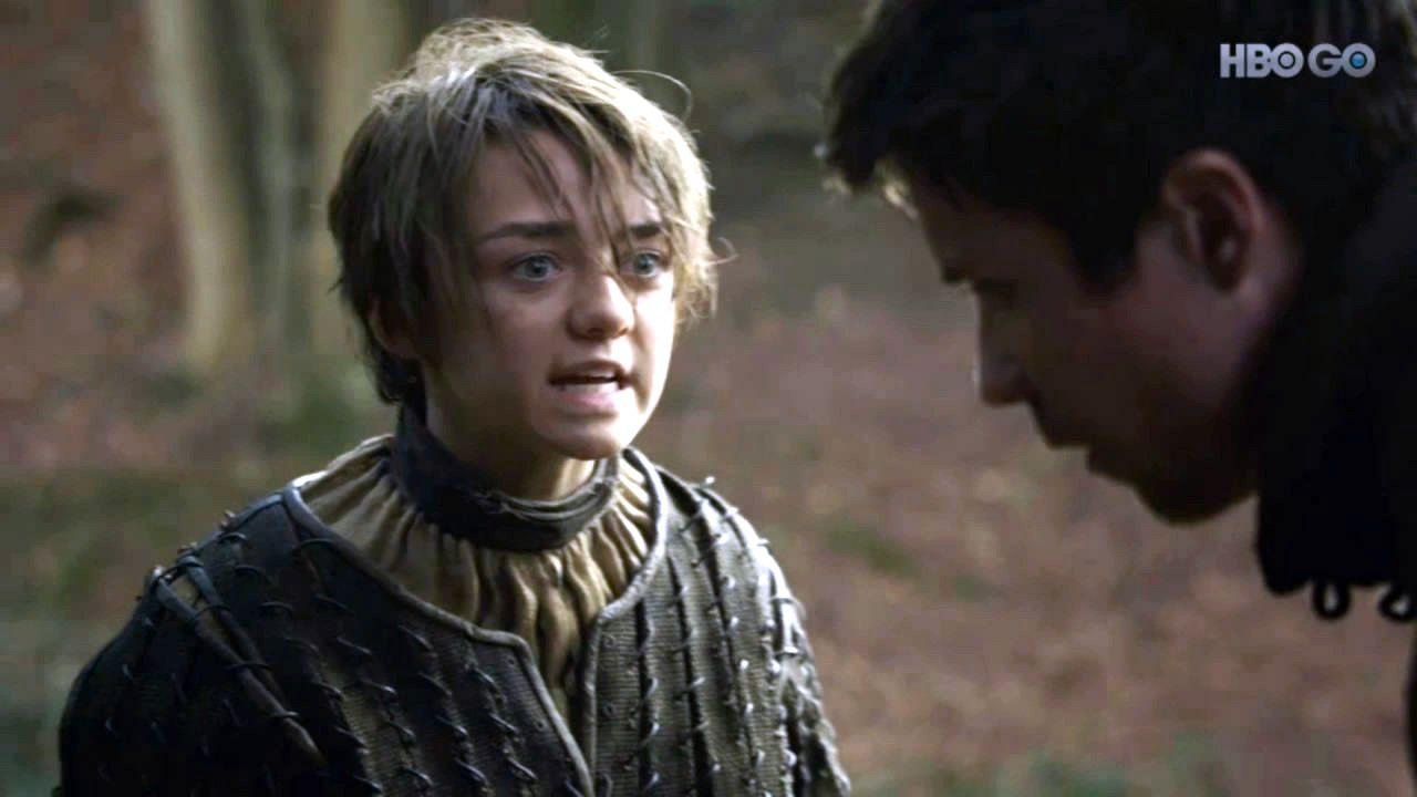 Arya stark arya and gendry