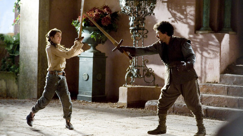 Arya and Syrio