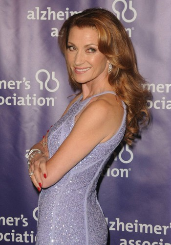 Attends the Alzheimer's Association's celebrity musical revue 2012